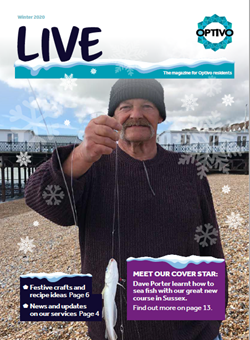 Our resident magazine - LIVE